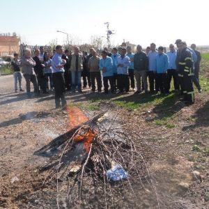 Rehabilitasyon Merkezinde Yangın Tatbikatı