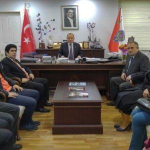 Bolu Belediye Başkanı Yılmaz'dan Emniyet Müdürü'ne Ziyaret