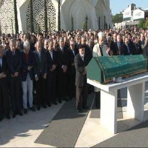 İşadamı Aziz Torun'un Babası Osman Torun Son Yolculuğuna Uğurlandı