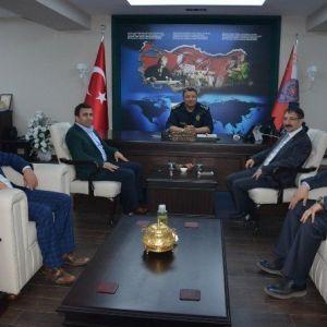 Bekiroğlu Emniyet Müdürü Kolcu'yu Ziyaret Etti