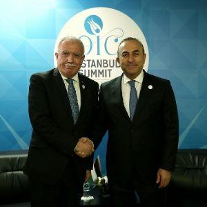 Dışişleri Bakanı Çavuşoğlu, Filistinli, Afgan Ve Bangladeşli Mevkidaşlarıyla Görüştü