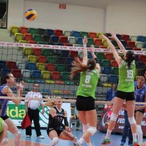 Seramiksan-manisa Büyükşehir Belediyespor: 3-0(kadınlar Voleybol 2.lig 4'lü Finalleri)