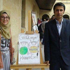 Kız Anadolu İmam Hatip Lisesi Obezite Ve Diyabete Karşı Afiş Yarışmasında Birinci Oldu