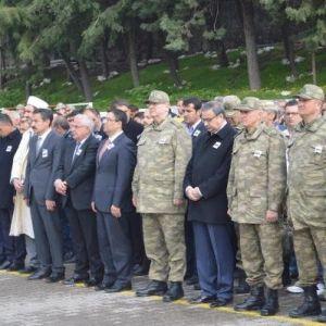 Şırnak'ta Şehit Uzman Çavuş Can'a Uğurlama Töreni
