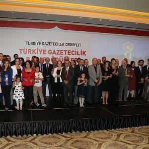 Türkiye Gazetecilik Başarı Ödülleri Sahiplerini Buldu