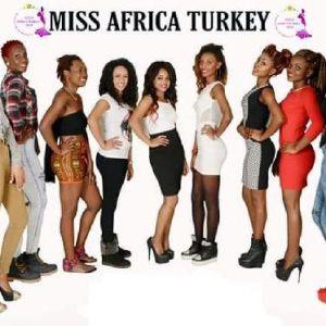 İstanbul'da 'Miss Africa Turkey' Heyecanı