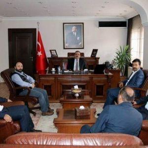 Başkan Bekiroğlu'ndan Vali Canbolat'a Ziyaret