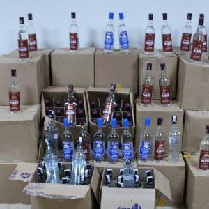 Kaçak İçki Ele Geçirildi