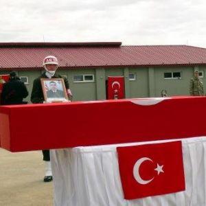 Nusaybin Şehitleri İçin Askeri Tören