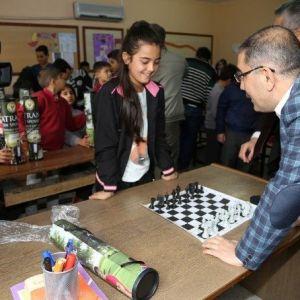 Yüreğir'de Satranç Turnuvası