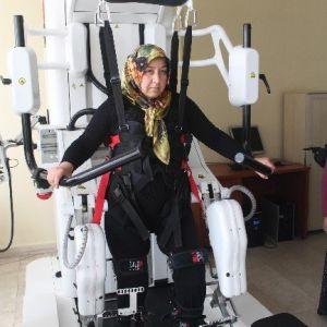 Robotik Yürüme Cihazı Hastalara Umut Oluyor