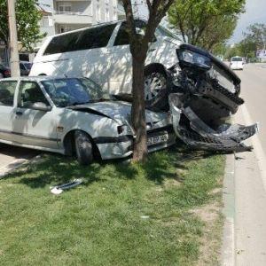 Bursa'da İlginç Kaza