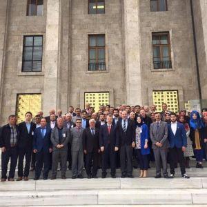 Ak Parti Gölpazarı Ve Yenipazar İlçe Teşkilatından Ankara Çıkartması