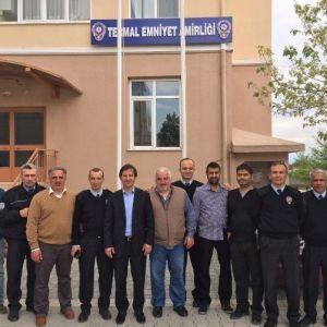 Başkan Atik'ten Polislere Ziyaret