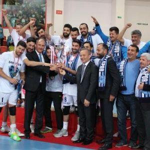 Afyon Belediyespor-adana Toros Byz Spor: 3-1 (Erkekler Voleybol 2.ligi 4'lü Finalleri Afyon Şampiyon)