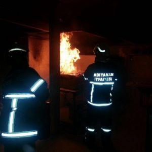 Otelin Mutfağında Yangın