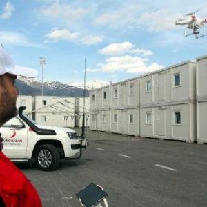 Kızılay Olası Afet Sonrasını Drone İle Tespit Edecek