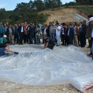 Dsi'den Adrasan Barajında Deney
