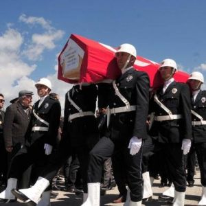 Doğum Gününde Kalp Krizinden Ölen Emniyet Müdürüne Tören