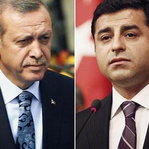Erdoğan, Demirtaş'dan tazmanit kazandı