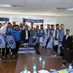 Şampiyon Adana Toros Byz Spor'dan Çelikcan'a Ziyaret