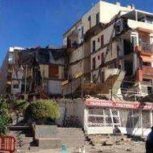 İspanya'da 5 katlı bina çöktü !