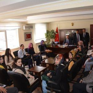 Yozgat'ta Aday Öğretmenlere Milli Eğitim Müdürlüğü Tanıtıldı