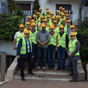 İş Makinası Operatörlere Deprem Kurtarma Eğitimi
