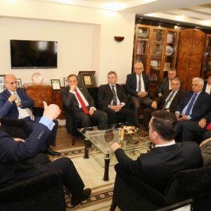 Chp Genel Başkan Yardımcılarından Kesimoğlu'na Ziyaret