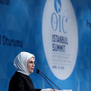 Emine Erdoğan: Ne Yazık Ki Dinimiz İslam, Terörle Özdeşleştiriliyor