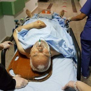 Merdivenden Düşen Yaşlı Adam Ağır Yaralandı