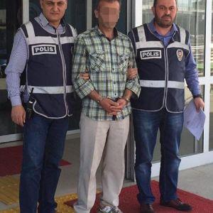 14 Yaşındaki Kızı Tacizden Tutuklandı