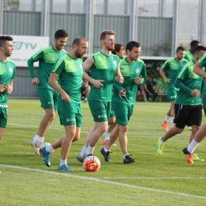 Bursaspor'da Akhisar Hazırlıkları Sürüyor
