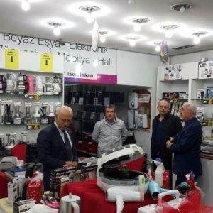 Kto Başkanı Hiçyılmaz'dan, Çarşı Merkezindeki Üyelere Çat Kapı Ziyaret