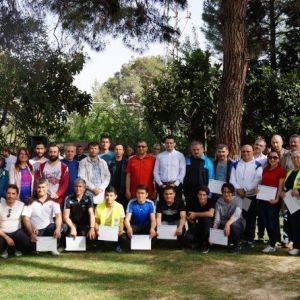 Oryantiring Türkiye Müsabakaları Kırkağaç'ta Yapıldı