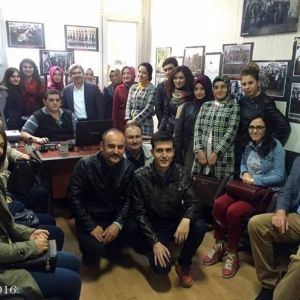 Aday Öğretmenler Fotoğraf Müzesi'ni Gezdi