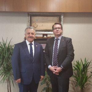 Çek Büyükelçi'den Ak Parti Kars Milletvekili Arslan'a Ziyaret