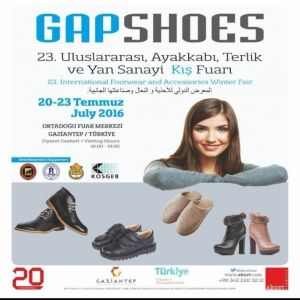 23. Gapshoes Fuarı'ı 20 Temmuz'da Açılacak