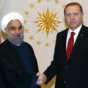 Erdoğan ve Ruhani ortak basın toplantısı düzenledi !