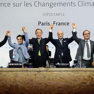 Tarihi Paris Anlaşması imzalandı !