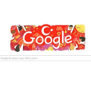 Google 23 Nisanı unutmadı