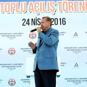Cumhurbaşkanı Erdoğan'dan sert sözler !