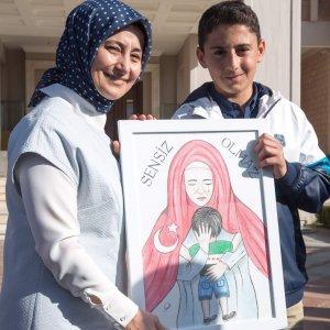 Suriyeli Muhammed ''sensiz olmaz'' dedi