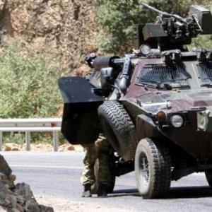 PKK'lı teröristler yine saldırdı