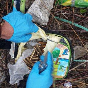 PKK'lı teröristin beslenme çantasından bomba çıktı