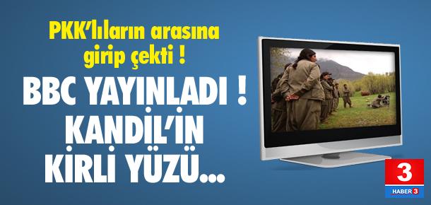 BBC PKK'lıların arasına girip çekti! İşte Kandil'in kirli yüzü