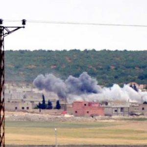 Obüsler IŞİD'i vurdu: 11 ölü