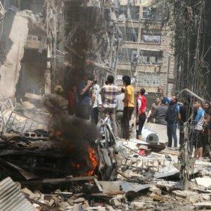 Esad yine sivilleri vurdu !