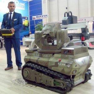 PKK'ya karşı mini insansız araç ürettiler