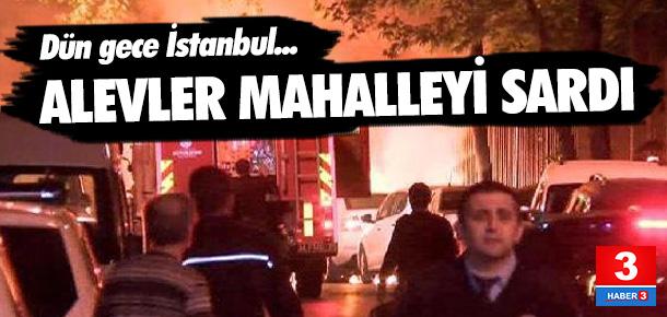 İstanbul'da 6 araç kundaklandı